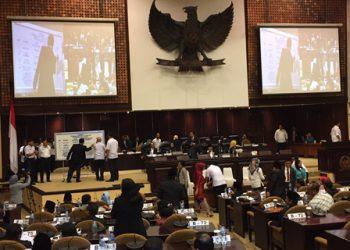 Voting pemilihan Ketua DPD RI/Net