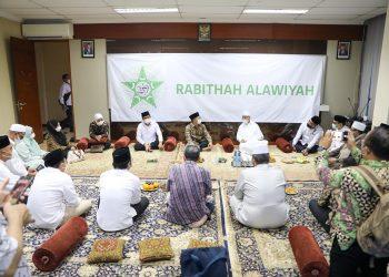 Ketua Umum dan Pengurus DPP PKB melakukan silaturahim ke Kantor Pusat Rabithah Alawiyah di Jalan TB Simatupang, Jagakarsa, Jakarta Selatan, Senin (21/6/2021).