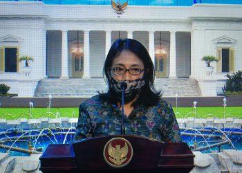 Menteri PPPA I Gusti Ayu Bintang Darmawati