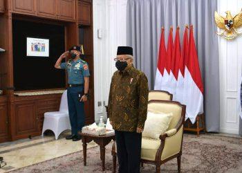 Wapres Ma'ruf Amin pada acara Peringatan Hari Anti Narkotika Internasional (HANI) Tahun 2021, secara virtual, Senin (28/06/2021).