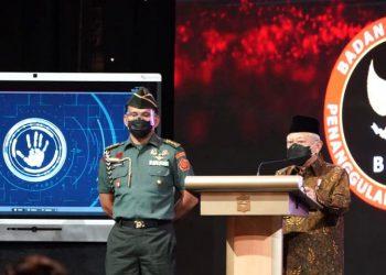 Wapres Ma'ruf Amin pada peluncuran RAN PE Tahun 2020-2024, Rabu (16/06/2021).