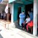 Presiden Joko Widodo meninjau program vaksinasi Covid-19 untuk masyarakat secara pintu ke pintu yang dilaksanakan di Gang Kampung Pesilat, Kecamatan Mejayan, Kabupaten Madiun, Jawa Timur, pada Kamis, 19 Agustus 2021.